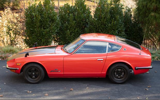 1970 Nissan Fairlady Z 432 side profile
