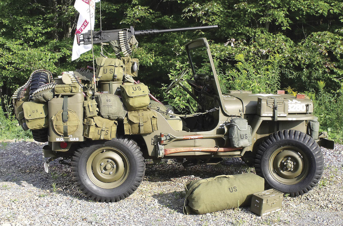 1952 Willys M38 Korean War Jeep side profile