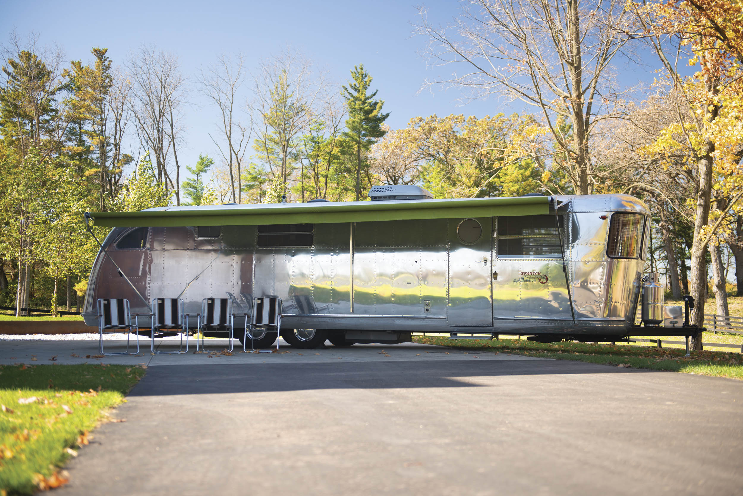 This 1951 Spartan Royal Mansion travel trailer sold for $351K