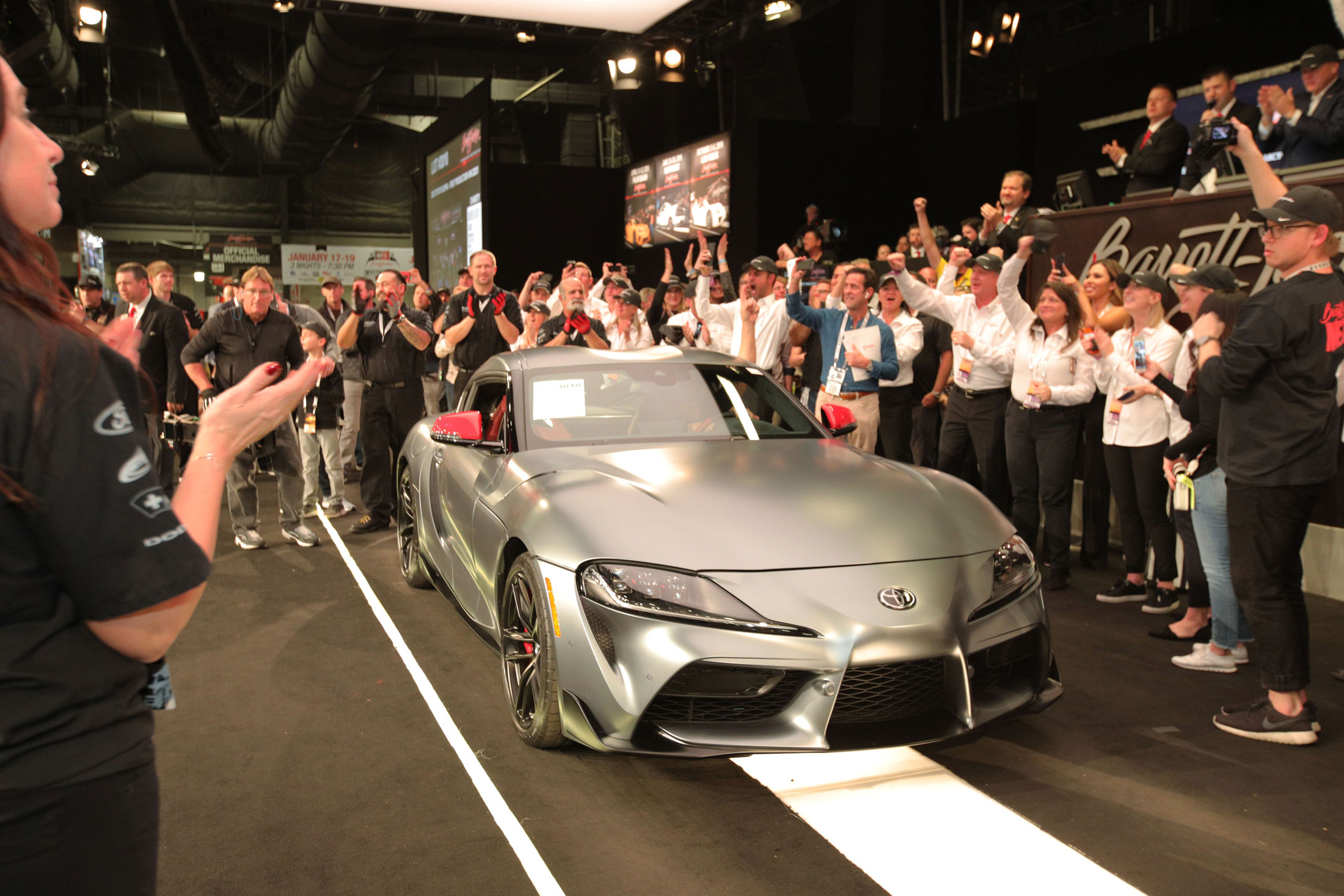 2020 Toyota Supra sold at Barrett-Jackson