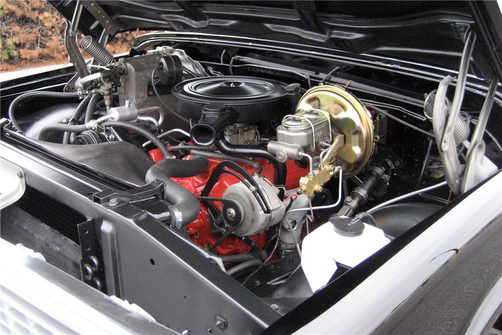 1972 Chevrolet K5 Blazer engine