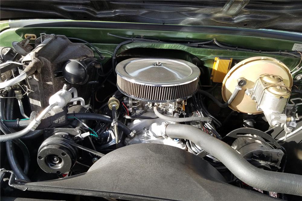 1972 Chevrolet K5 Blazer 350 engine