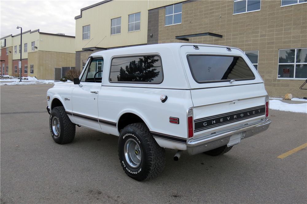 1972 Chevrolet K5 Blazer 3/4 rear