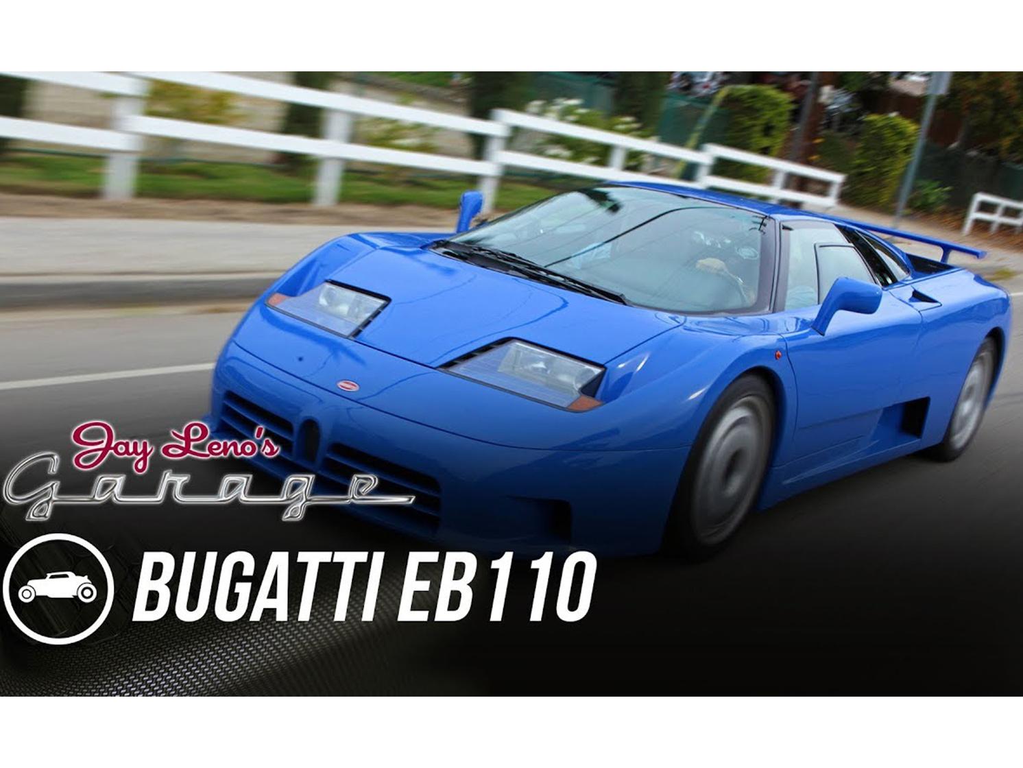 The Bugatti EB110 is a quirky, fantastic '90s supercar thumbnail