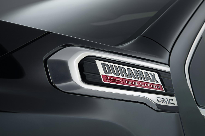 2020 GMC Sierra 2500HD Duramax badge