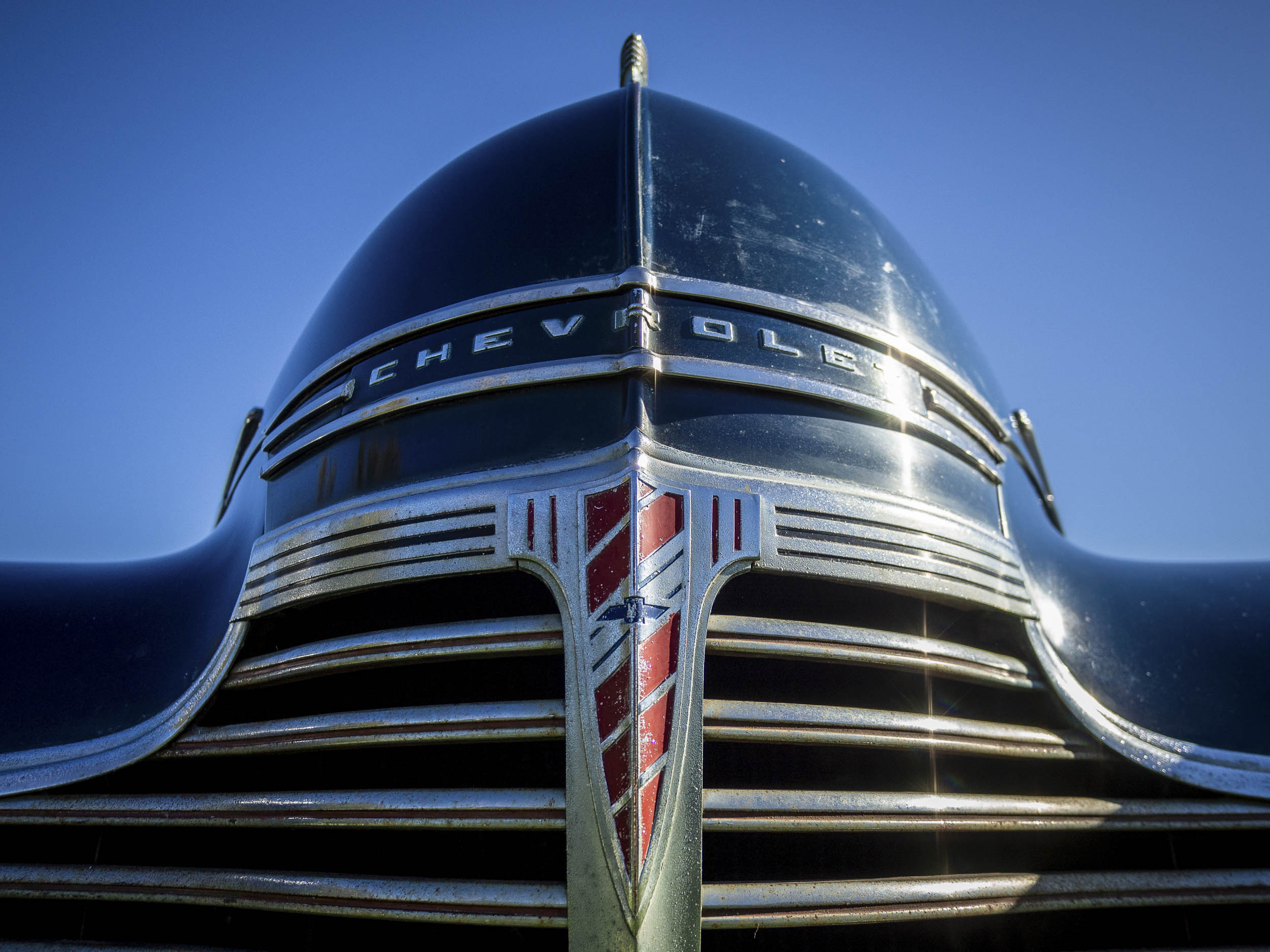 1941 Chevrolet Master Deluxe nose