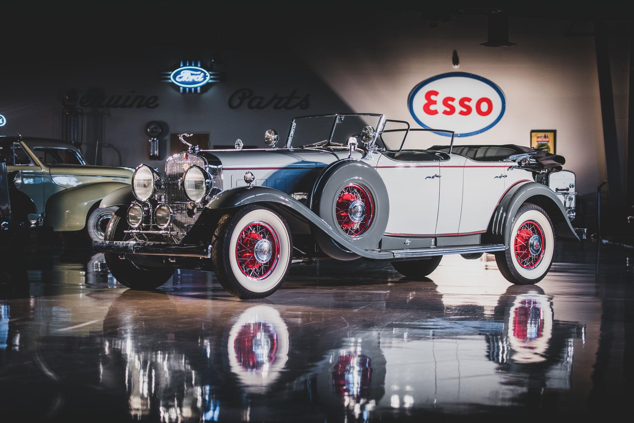 1930 Cadillac Series 452 V16 Sport Phaeton