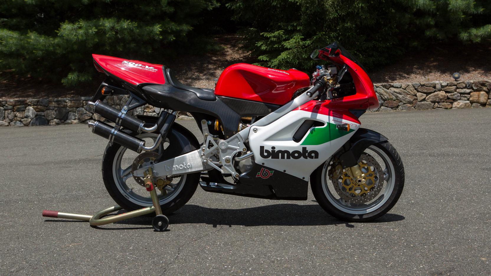 1999 Bimota V-Due 500 right side