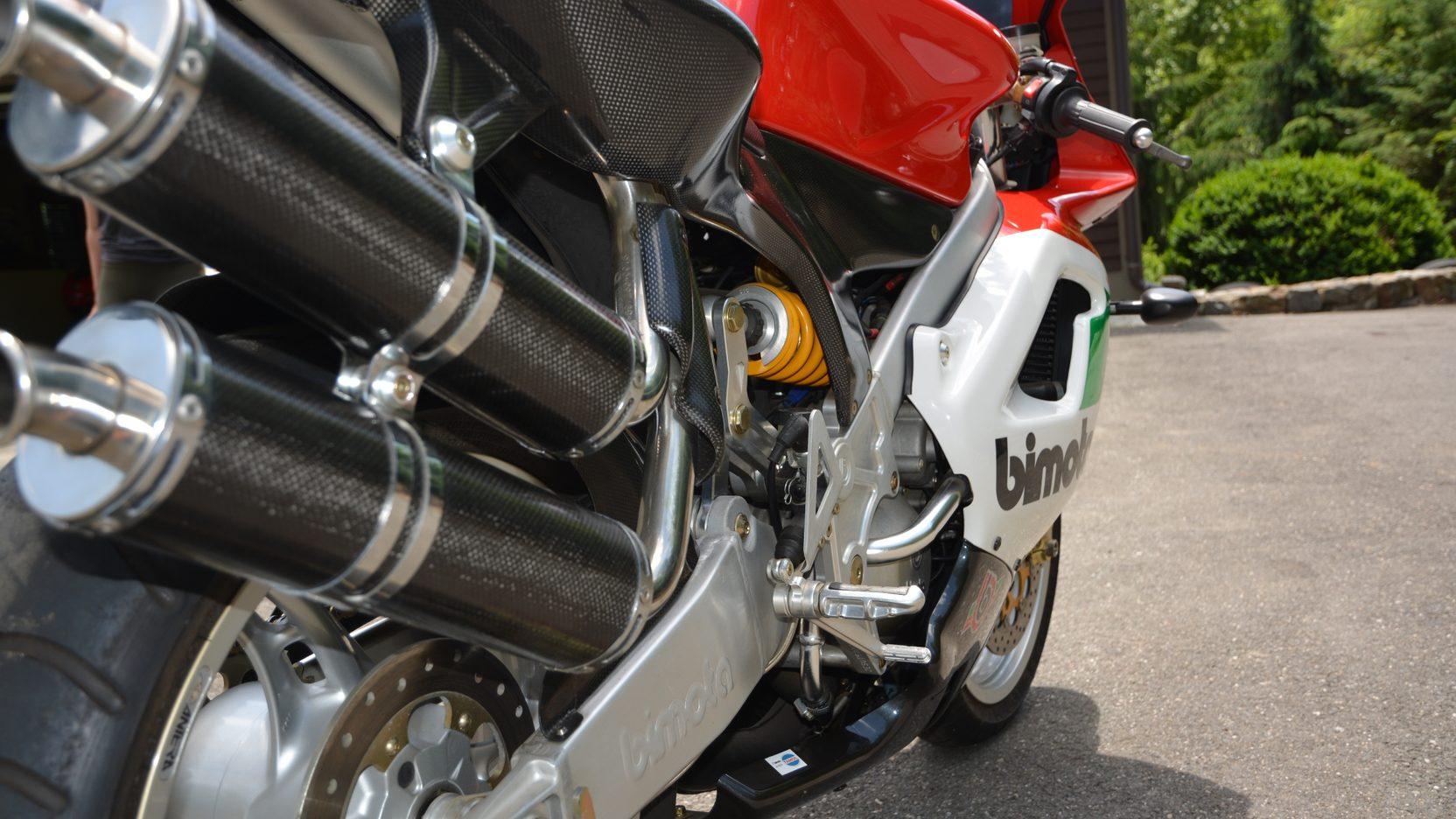 1999 Bimota V-Due 500 back to front