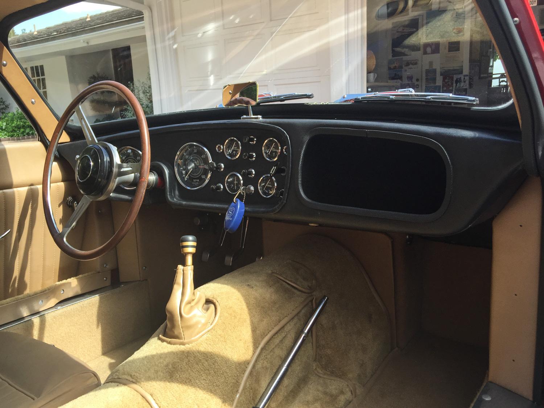 1959 Peerless GT interior dash