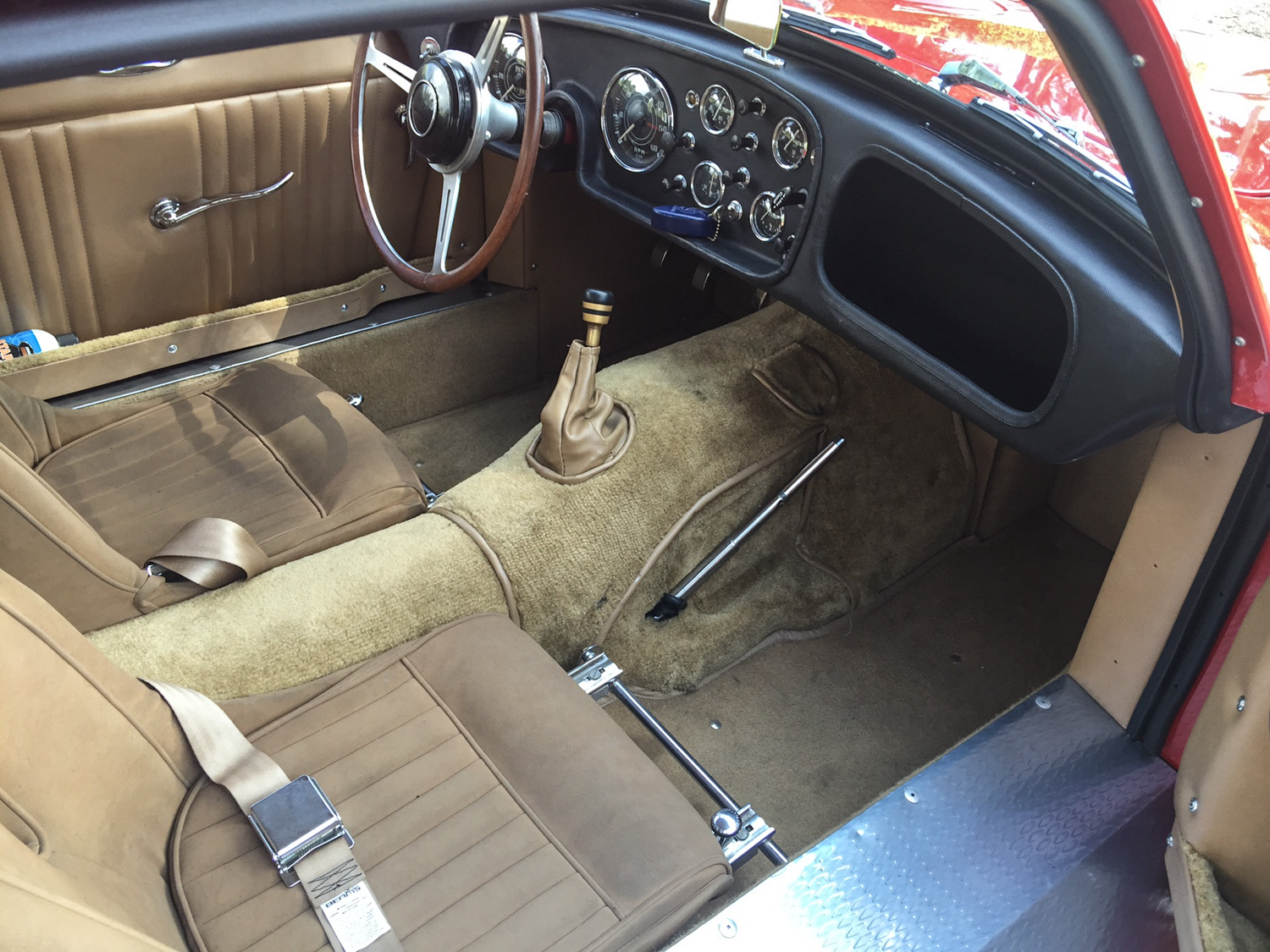 1959 Peerless GT interior carpet
