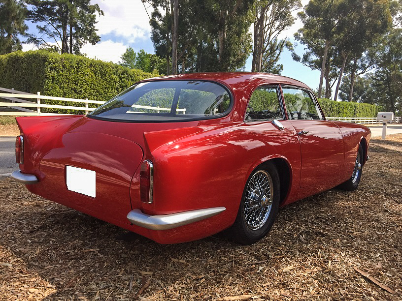 1959 Peerless GT rear 3/4
