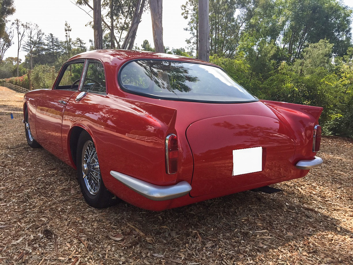 1959 Peerless GT 3/4 rear red