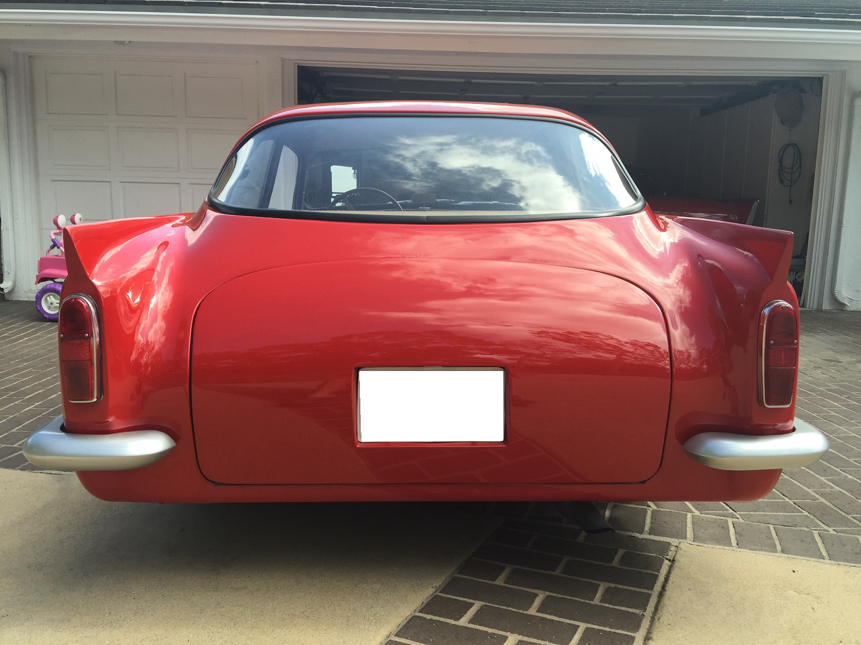 1959 Peerless GT rear clip