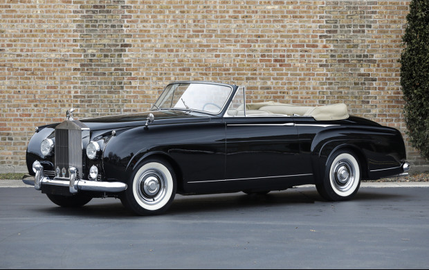 1957 Rolls-Royce Silver Cloud I Drophead Coupe by H.J. Mulliner