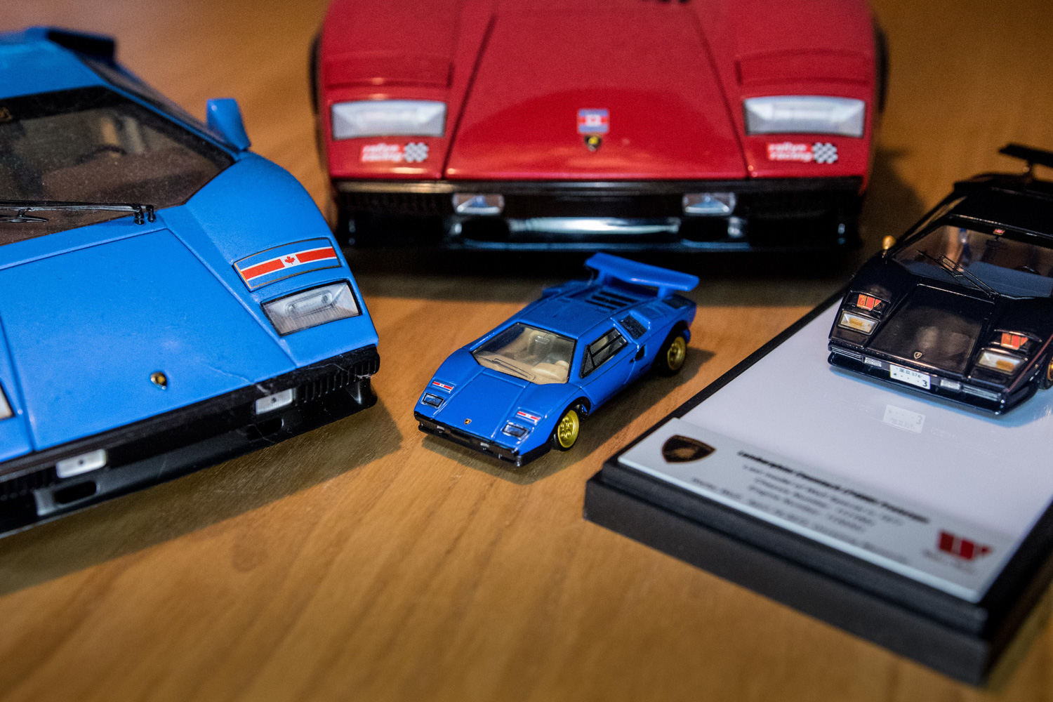 Mike wolf lambo model car collection