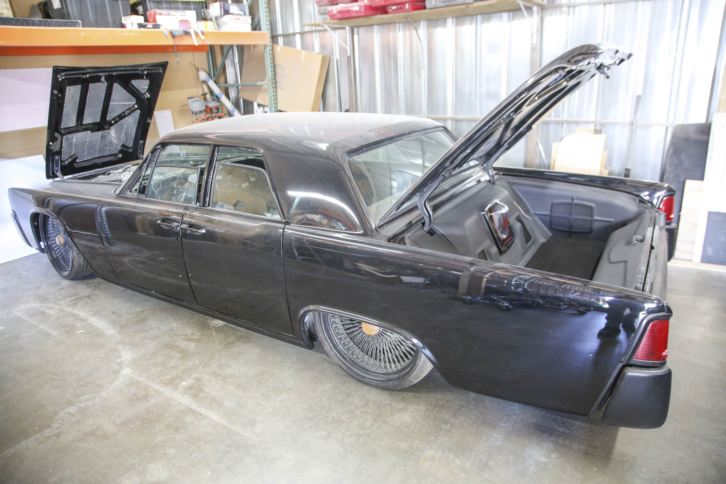 Picture Car Warehouse restoration