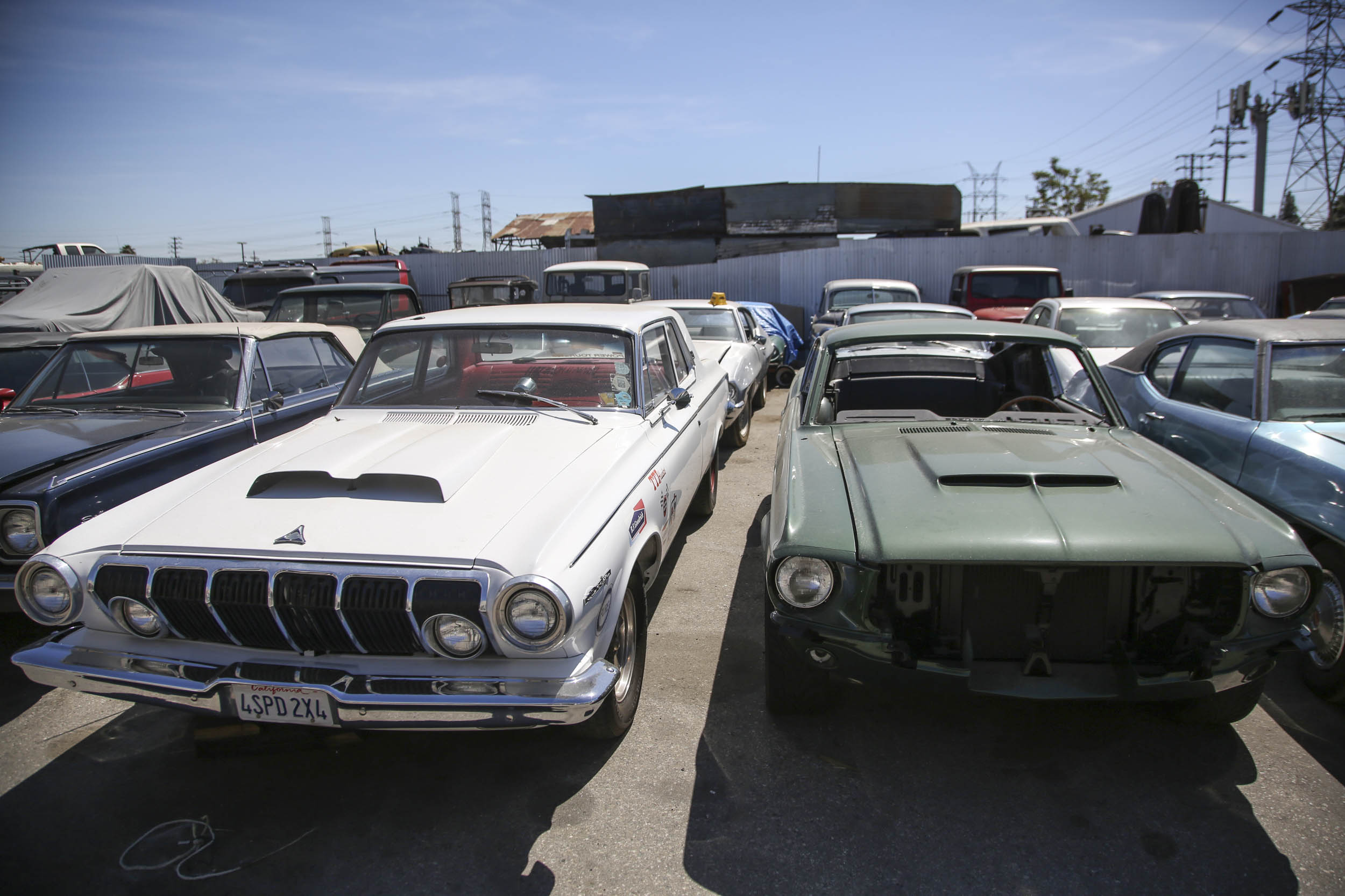 Picture Car Warehouse movie cars