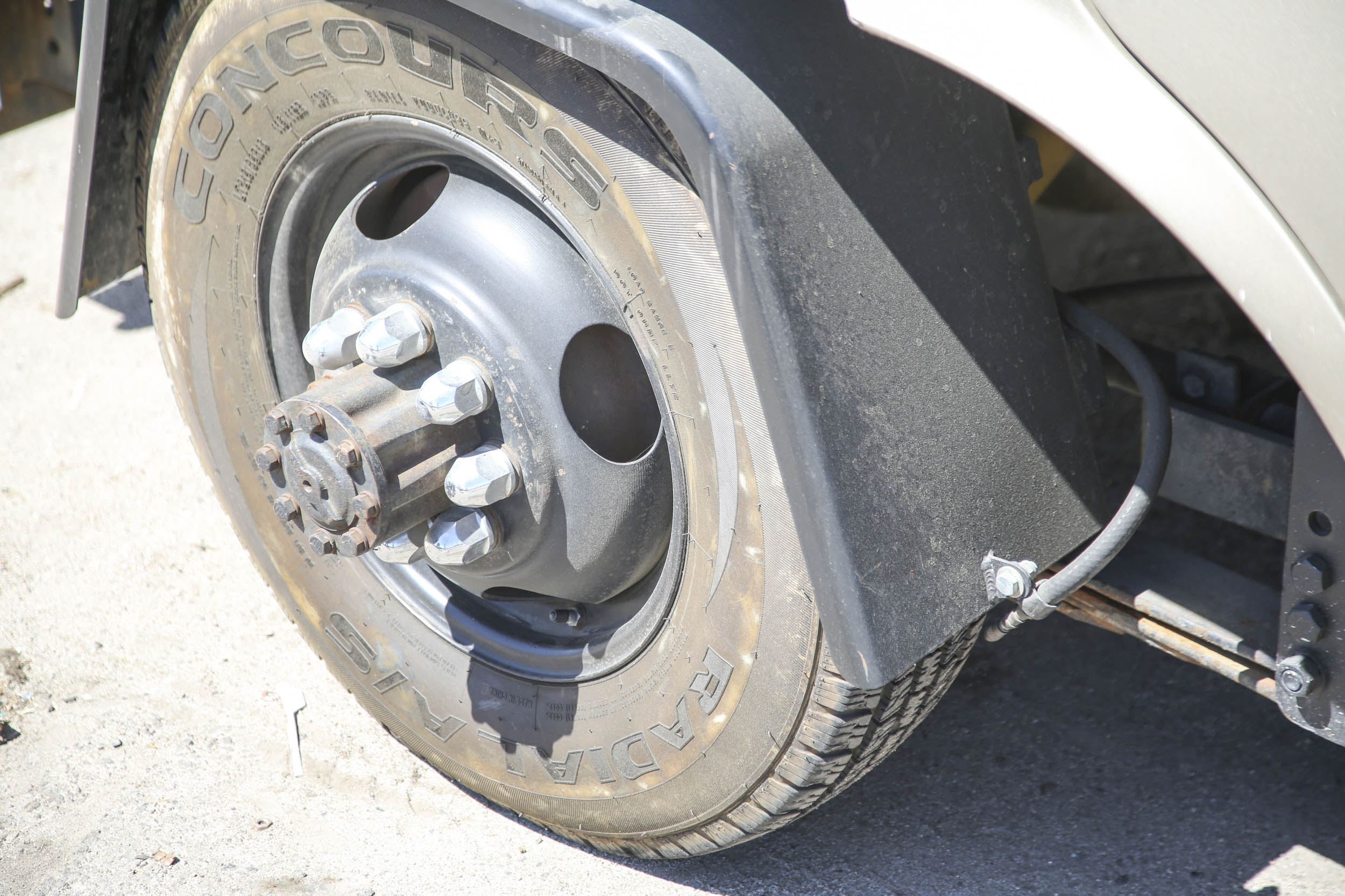 Picture Car Warehouse truck wheel tire