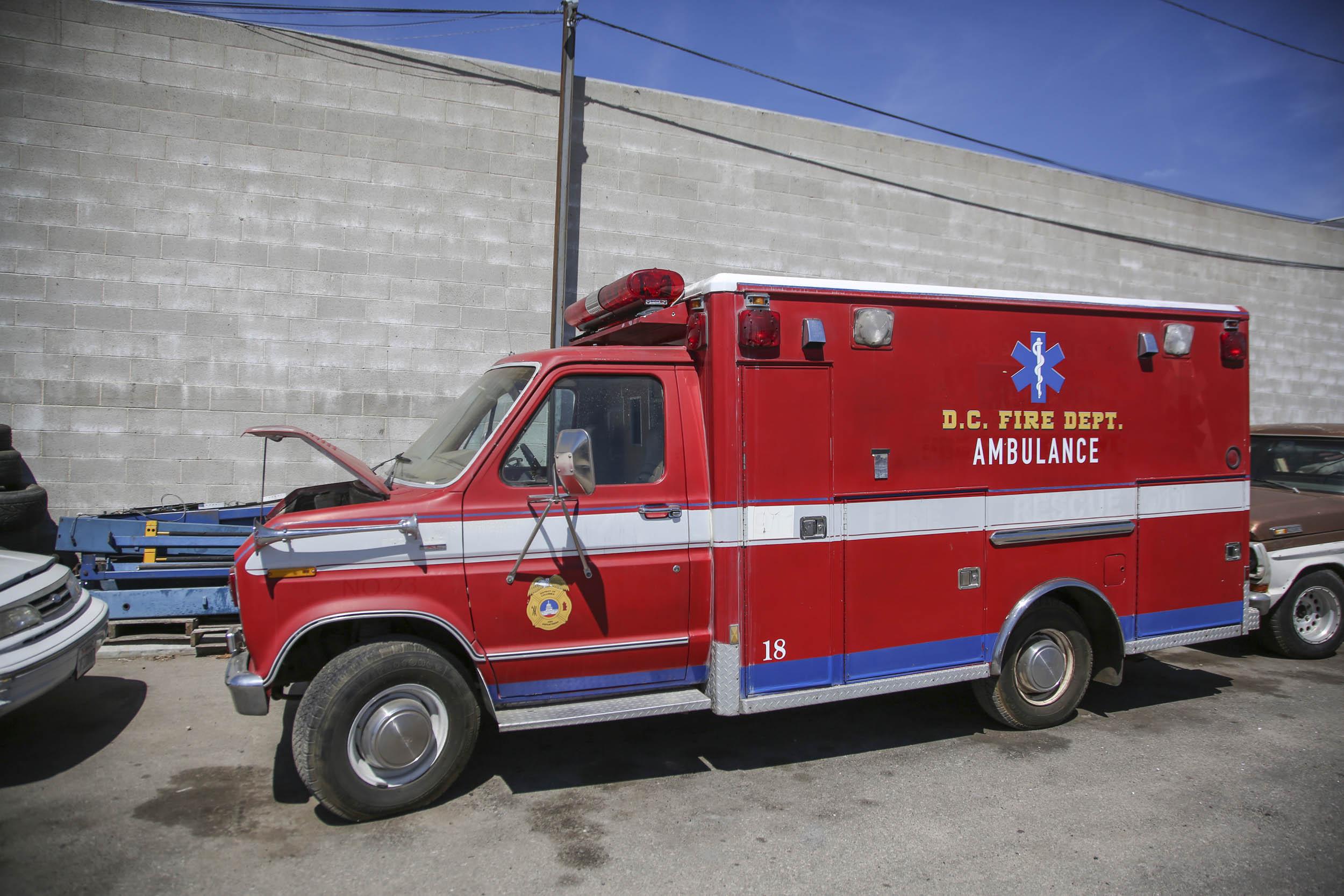 Picture Car Warehouse Movie Ambulance