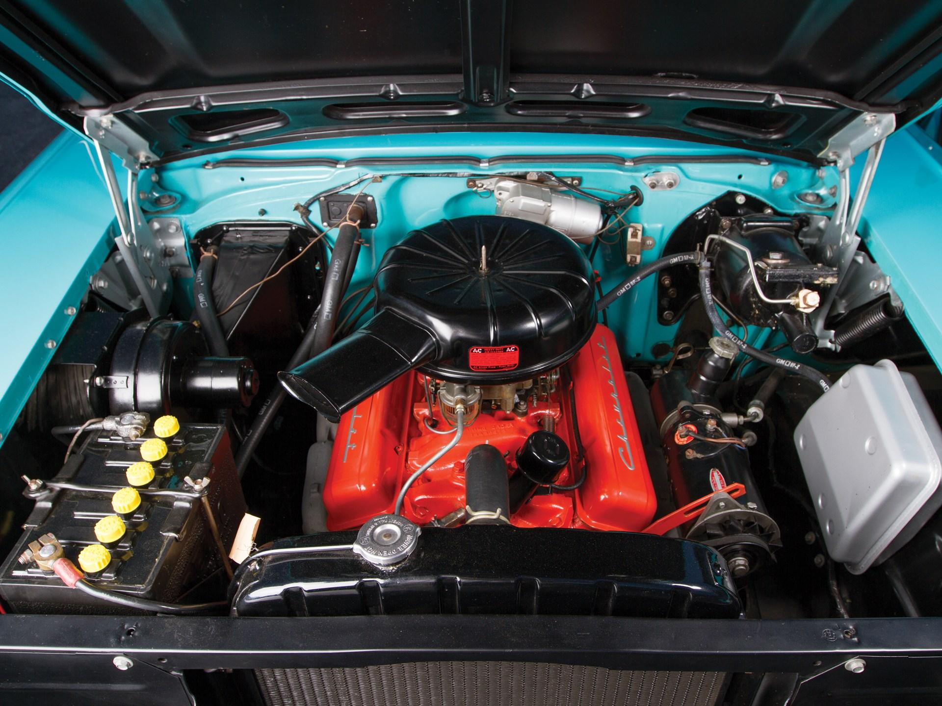 1957 Chevrolet Bel Air Nomad engine