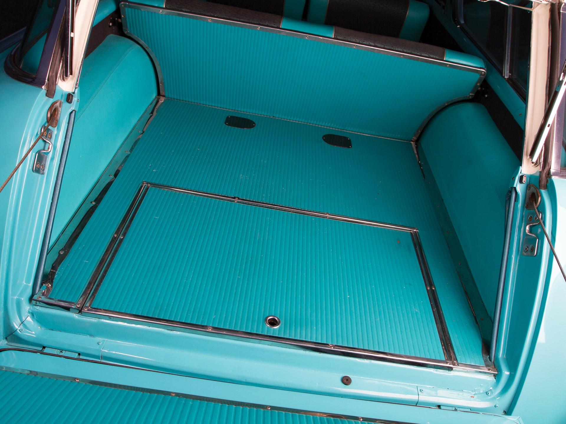 1957 Chevrolet Bel Air Nomad rear trunk