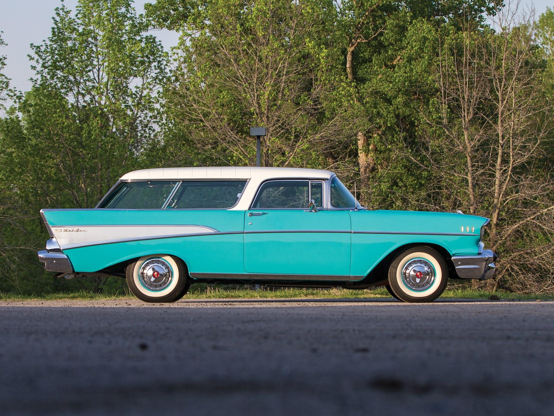 1957 Chevrolet Bel Air Nomad side profile