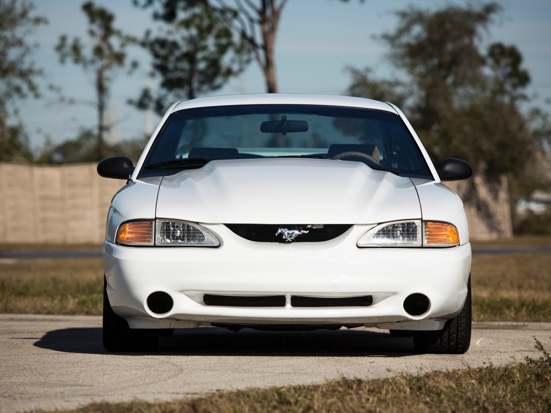 1995 Ford Mustang SVT Cobra R Front detail