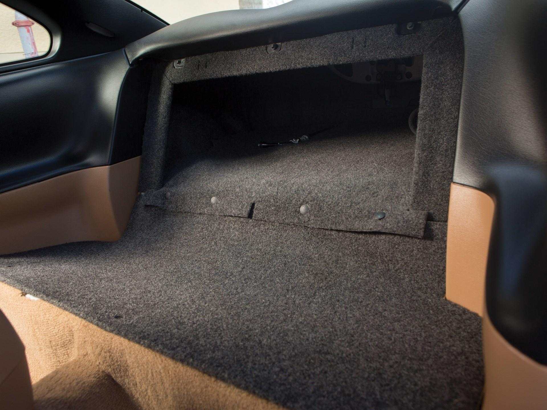 1995 Ford Mustang SVT Cobra R seat delete