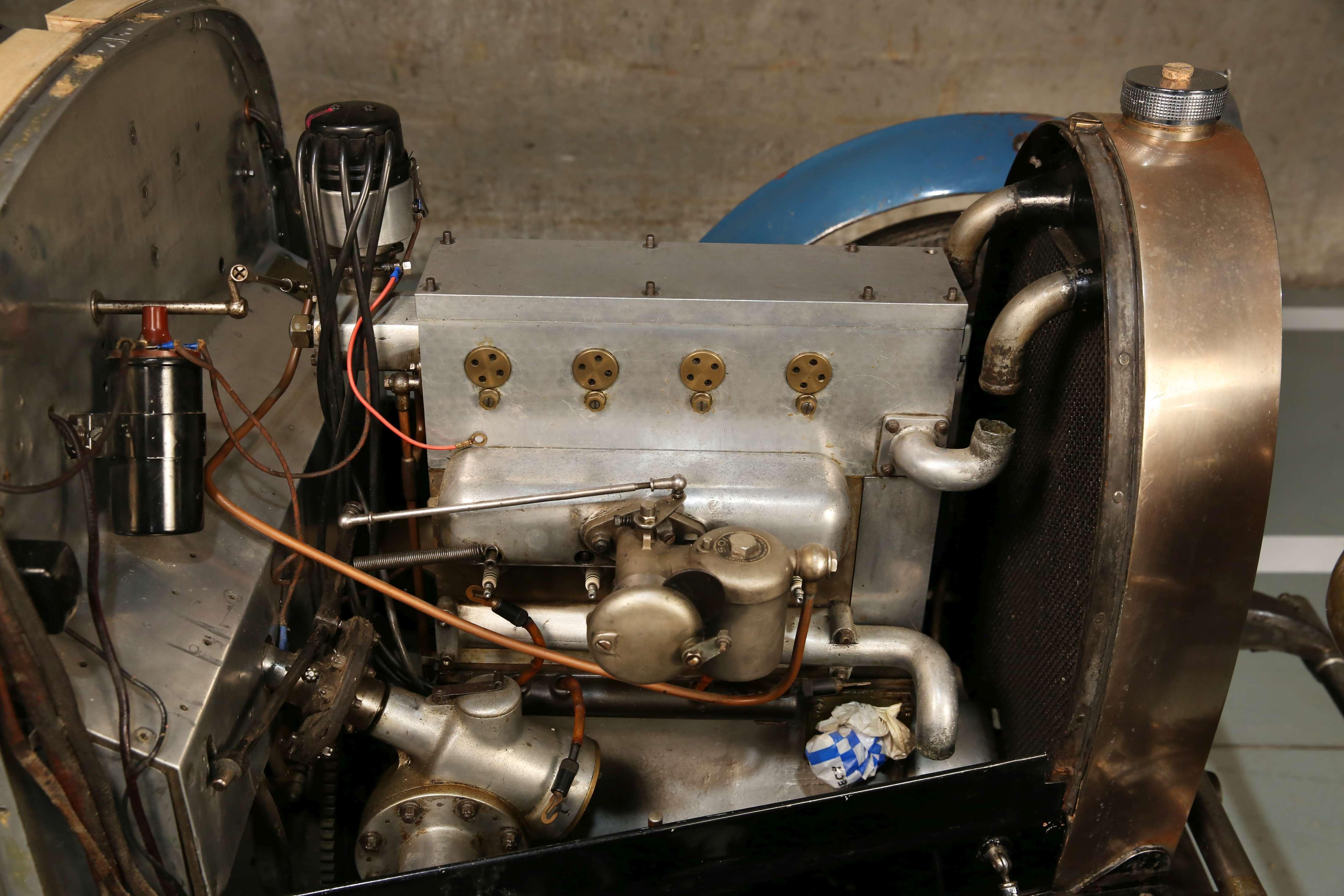 1929 Bugatti Type 40 engine