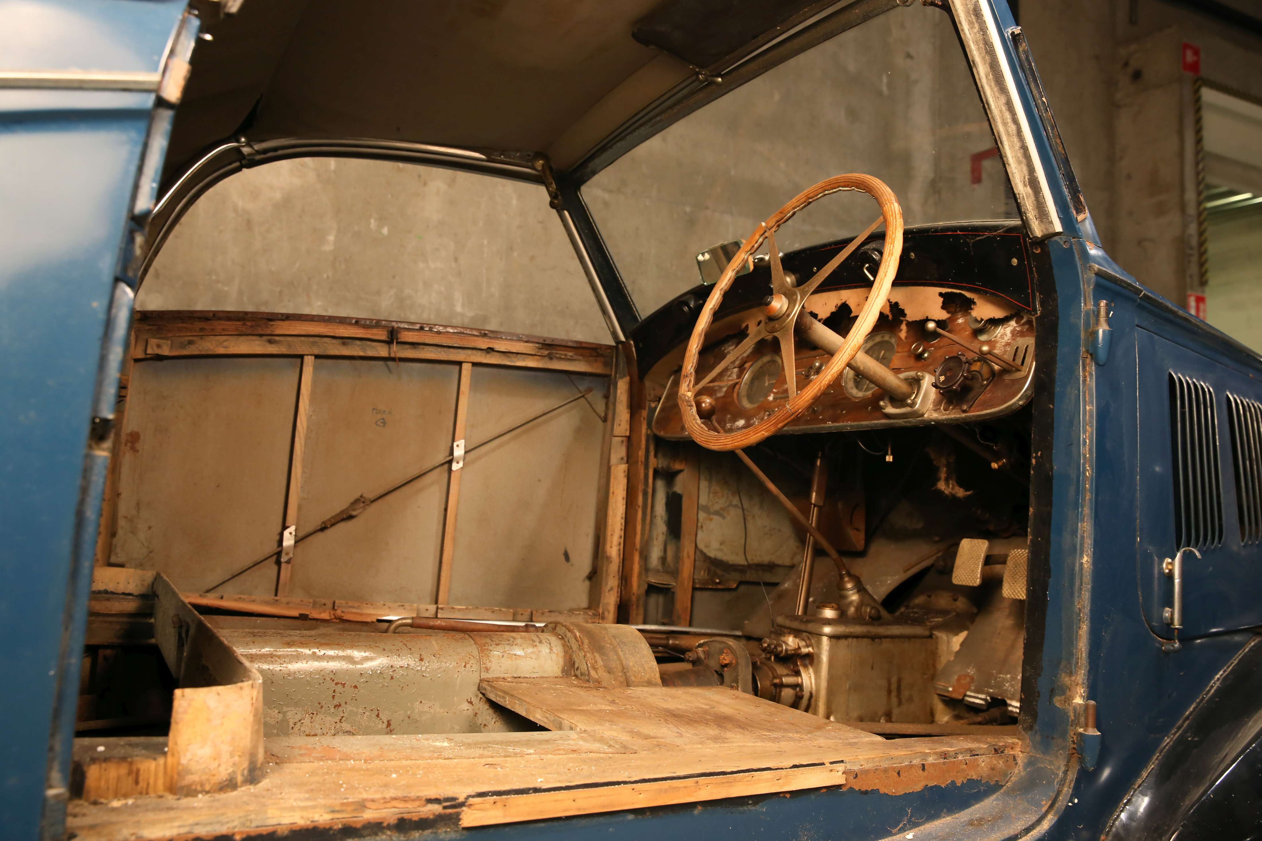 1937 Bugatti Type 57 Cabriolet par Graber interior