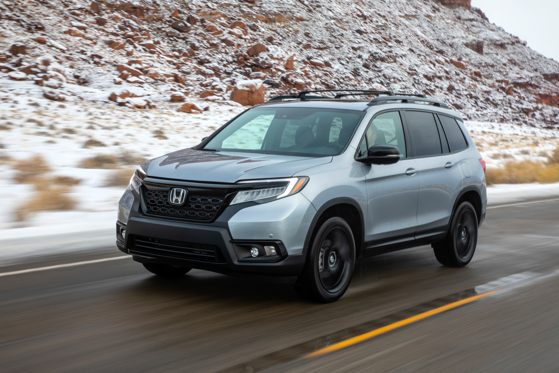 2019 Honda Passport 3/4 front driving