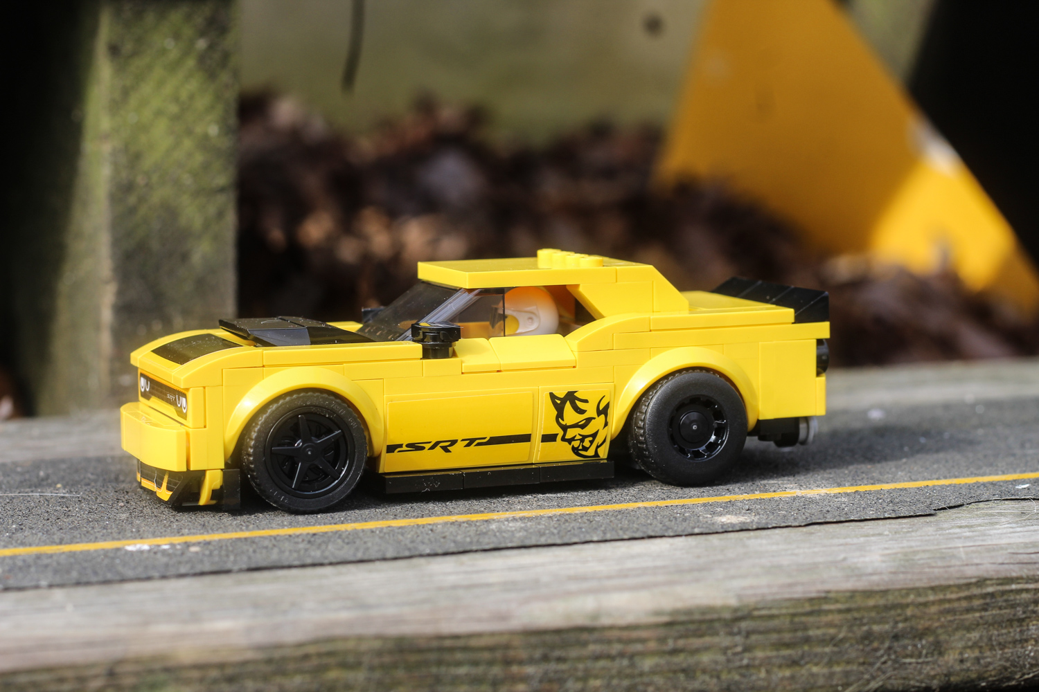 lego dodge demon 3/4 front