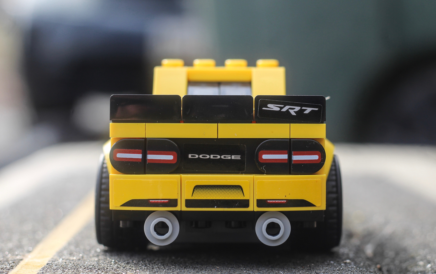 lego dodge demon rear