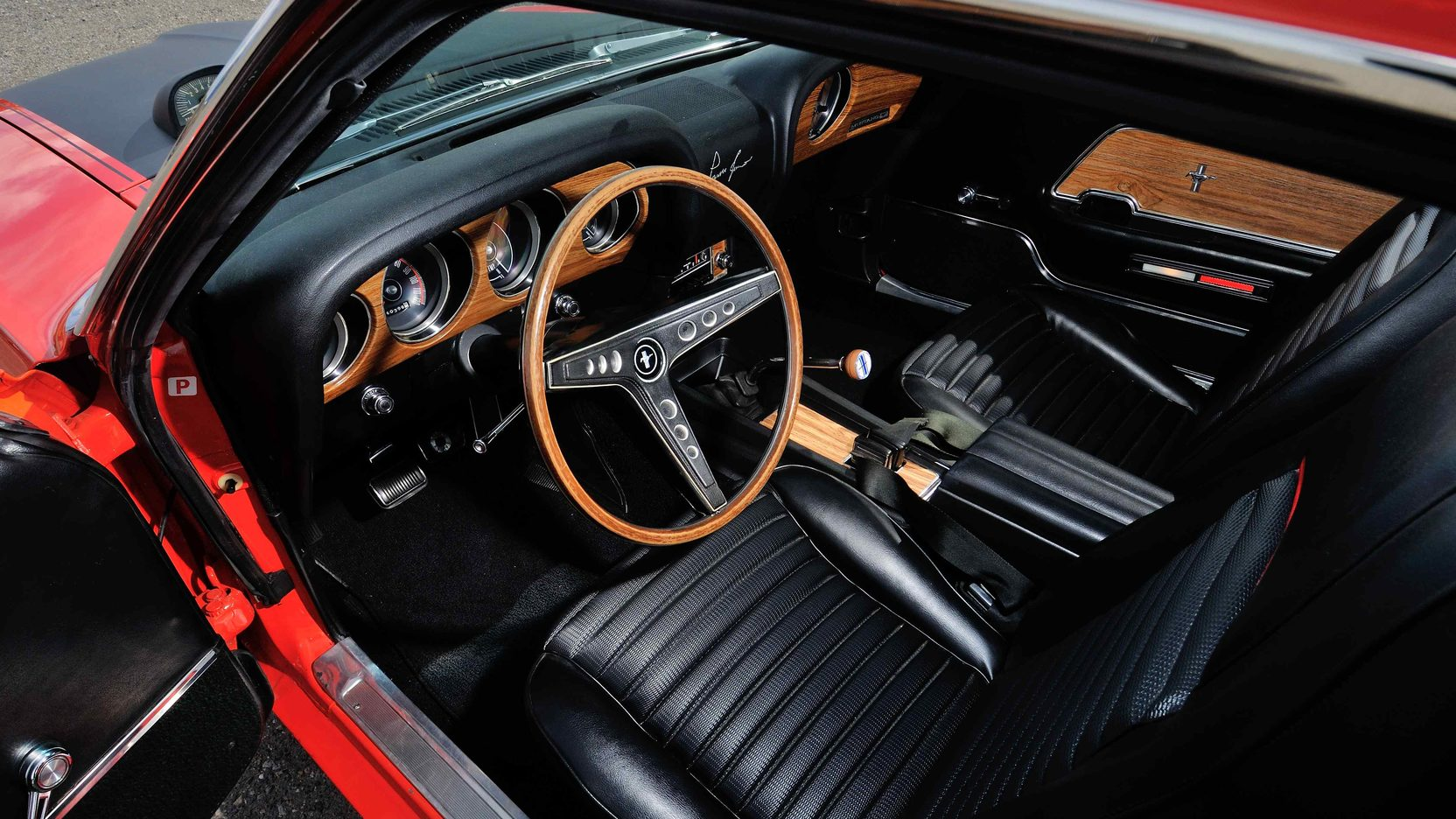 1969 Ford Mustang Boss 302 interior