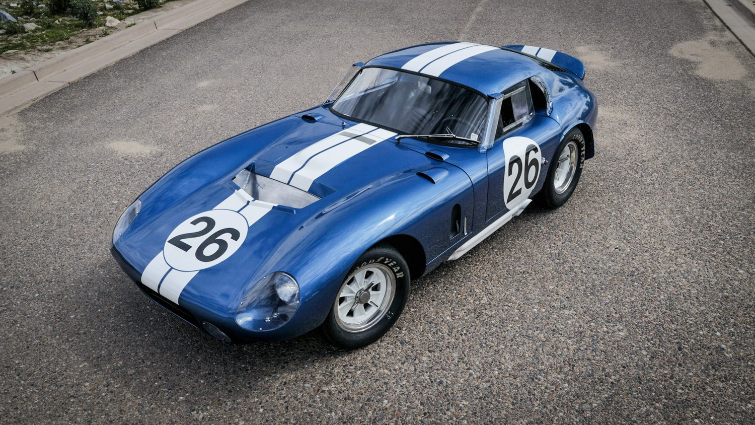 The brutal soundtrack of this Shelby Daytona Coupe will calm your soul thumbnail