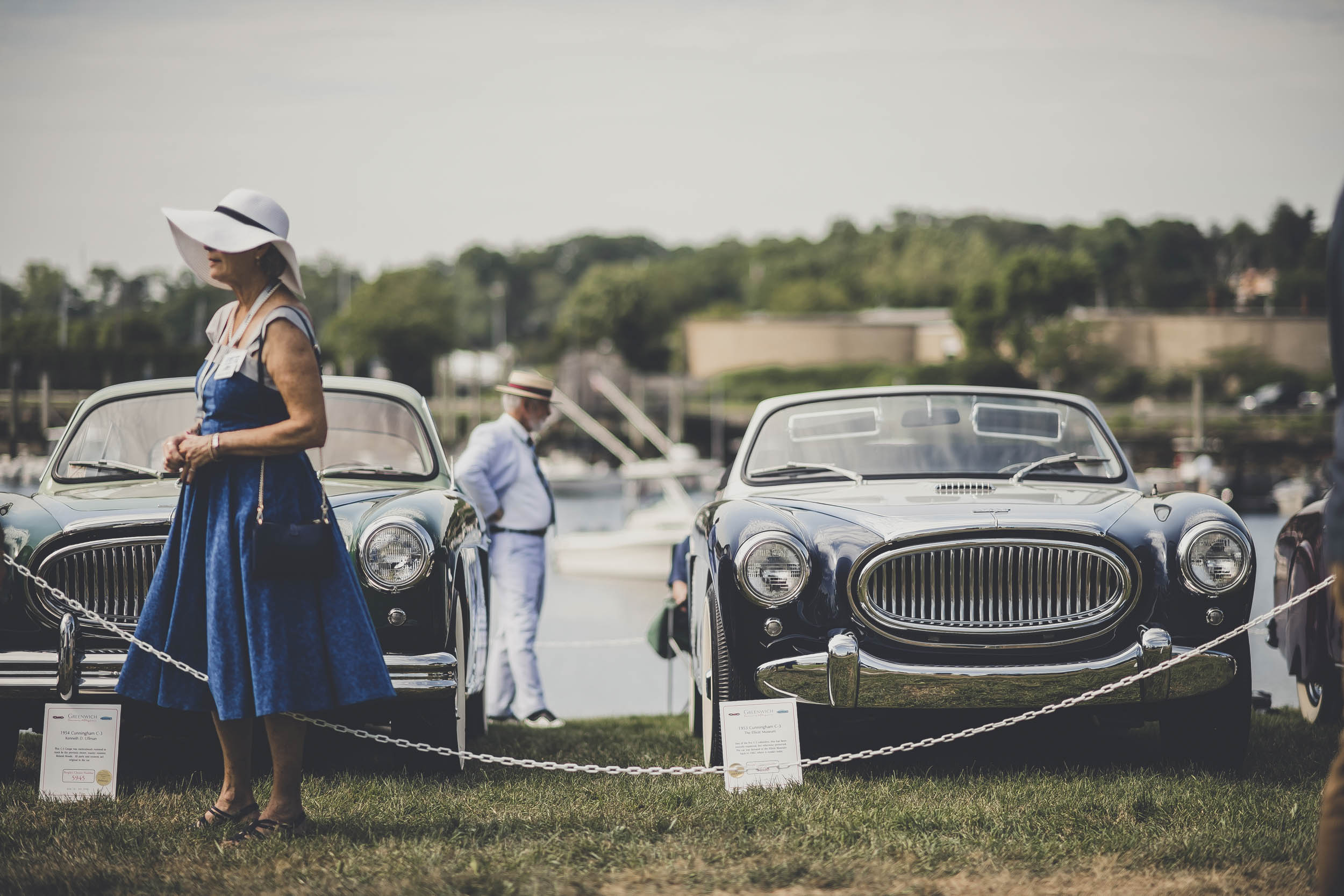 Cunninghams of all stripes convened on the privileged grass of Greenwich. The concurrent Bonhams auction sold a fairly rough C3 coupe that day for $313,000; pristine road cars go for a million or more, proving that Cunningham's following continues to grow.