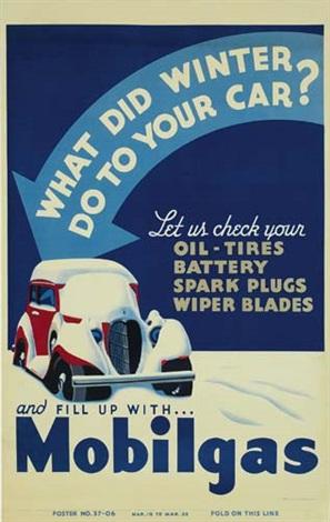 Mobil gas winterproof ad