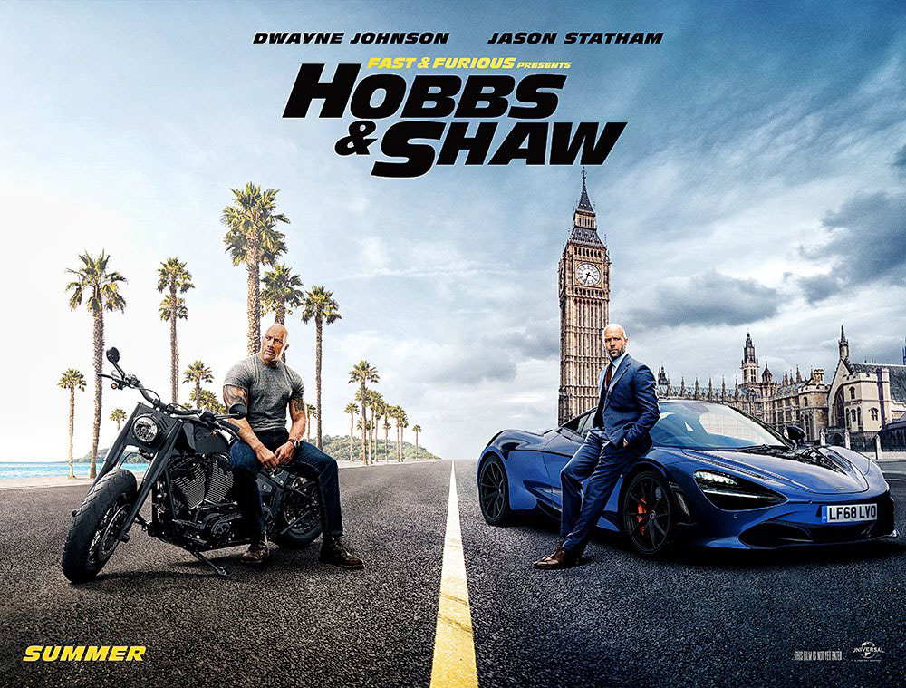 """Hobbs & Shaw"" Fast & Furious spin-off looks heavy on action, light on cars thumbnail"