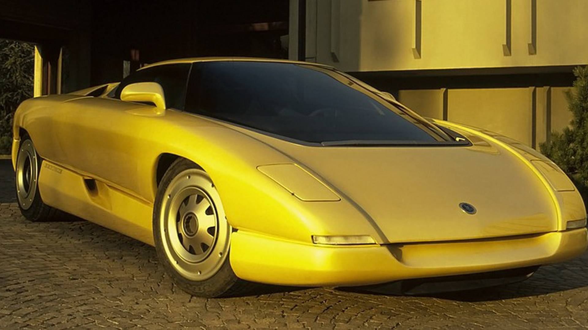 1990 Bertone Nivola concept 3/4 front low