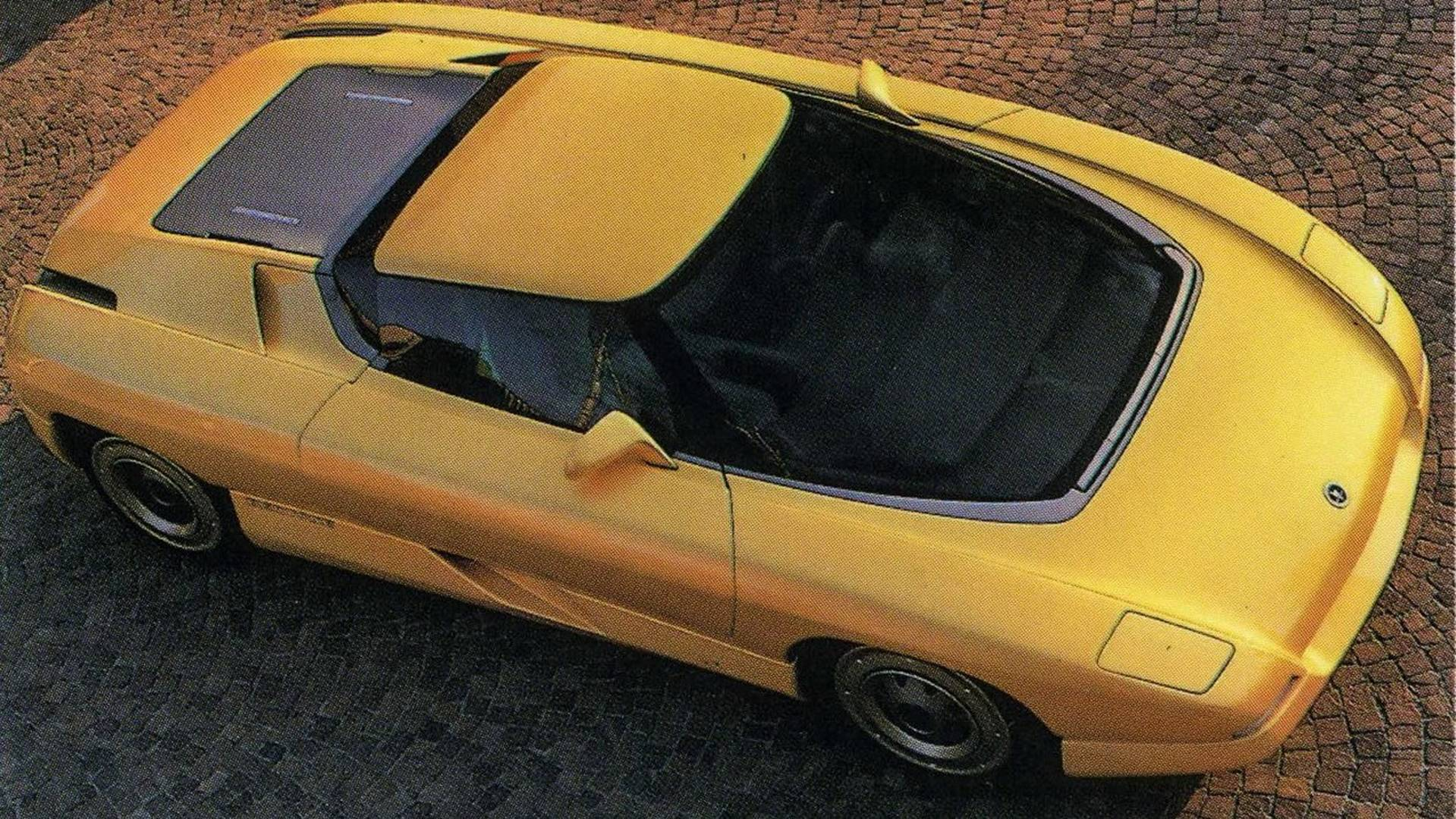 1990 Bertone Nivola concept 3/4 high