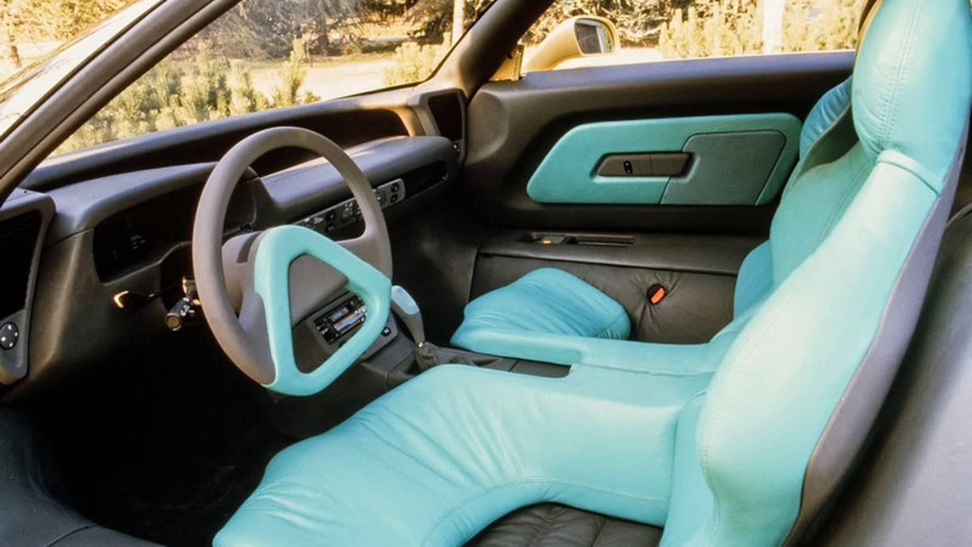 1990 Bertone Nivola concept Interior
