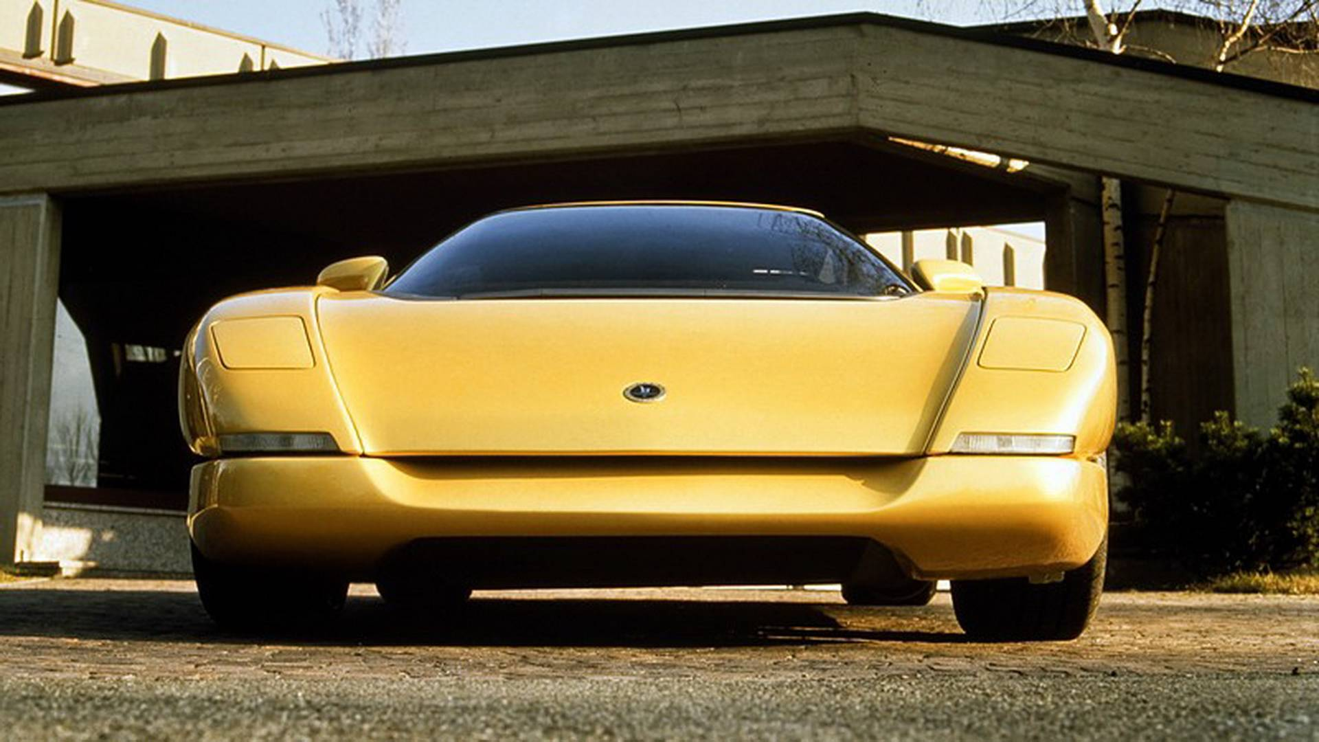1990 Bertone Nivola concept front end detail low