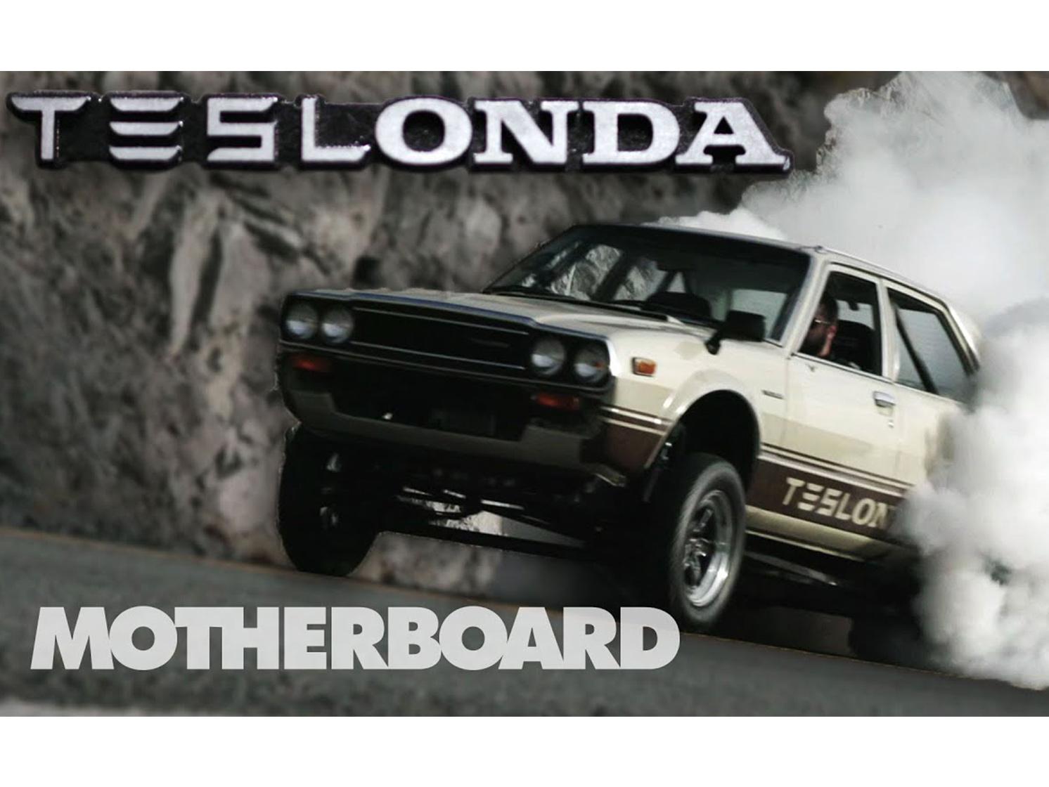Is this half Tesla/half Honda mashup the future of hot rodding? thumbnail