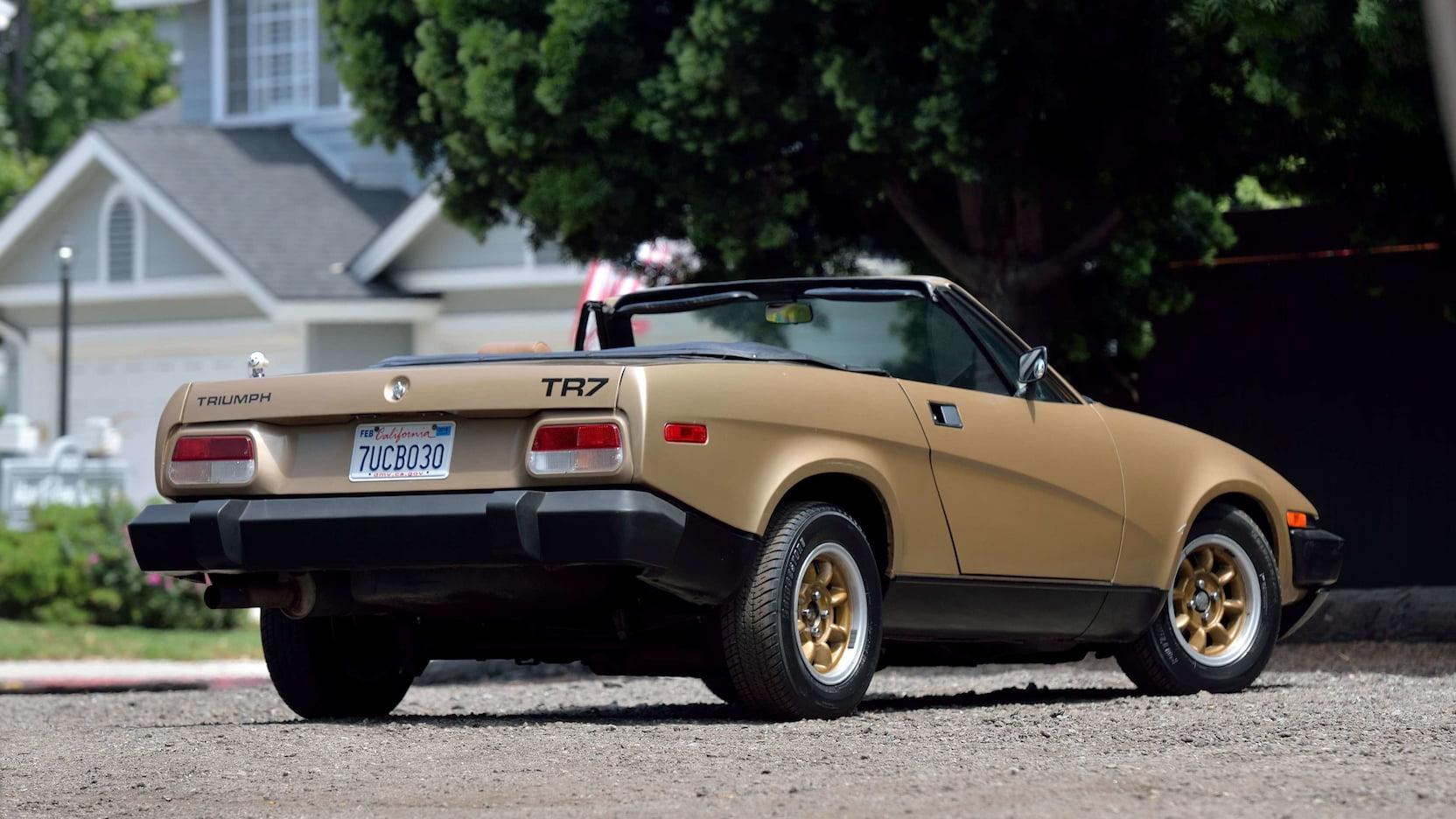 1979 Triumph TR7 3/4 rear passenger