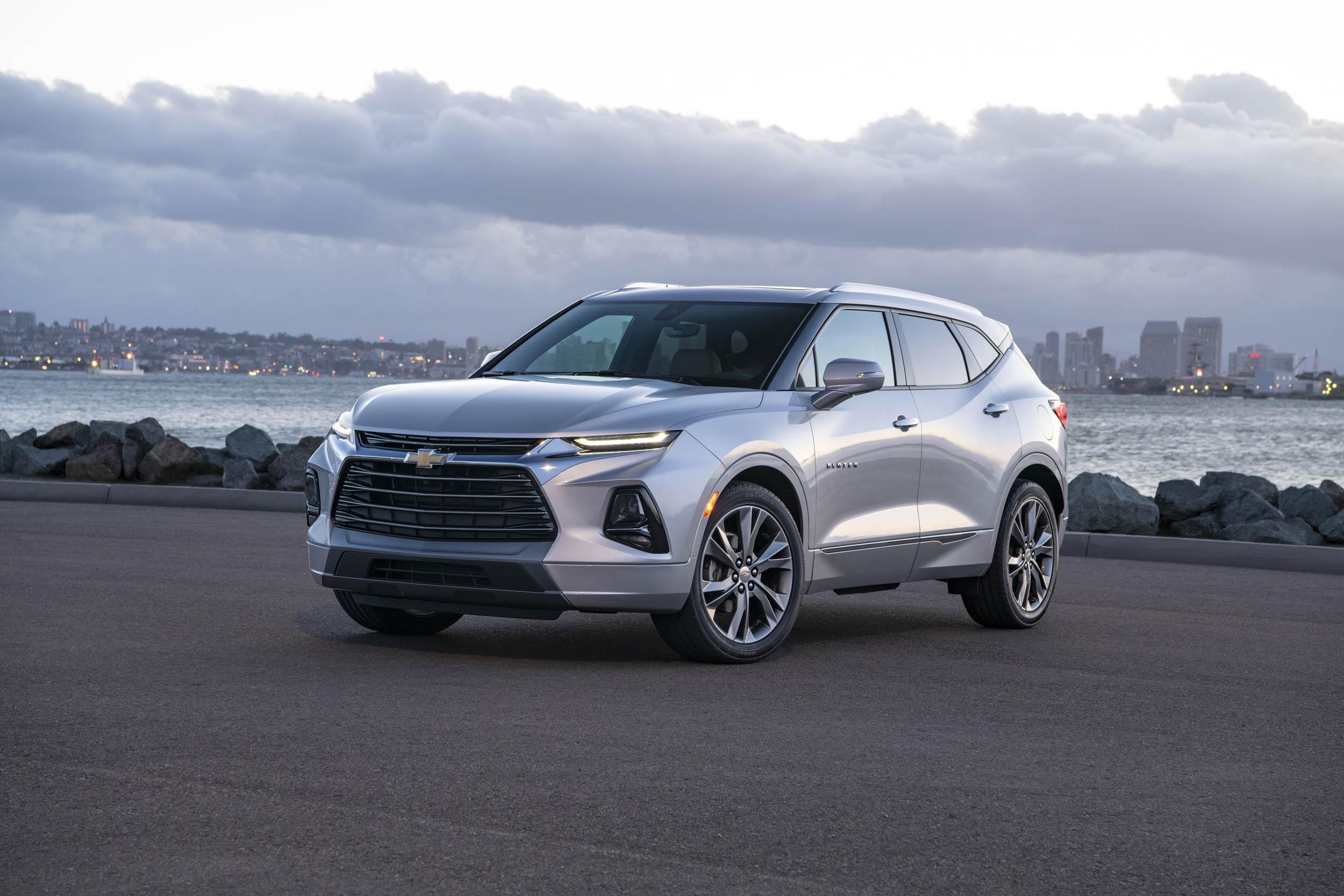 Silver 2019 Chevrolet Blazer