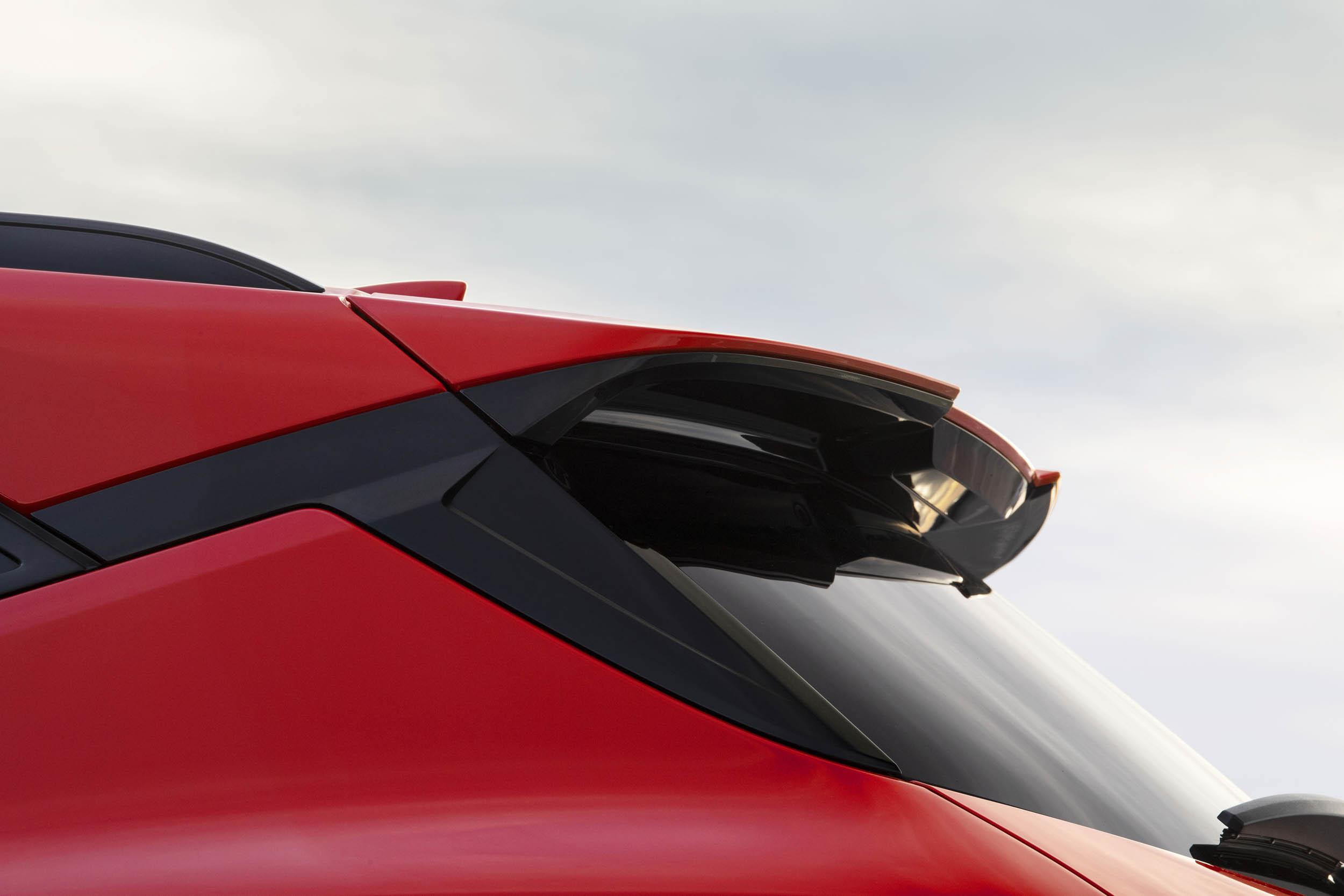 2019 Chevrolet Blazer rear spoiler