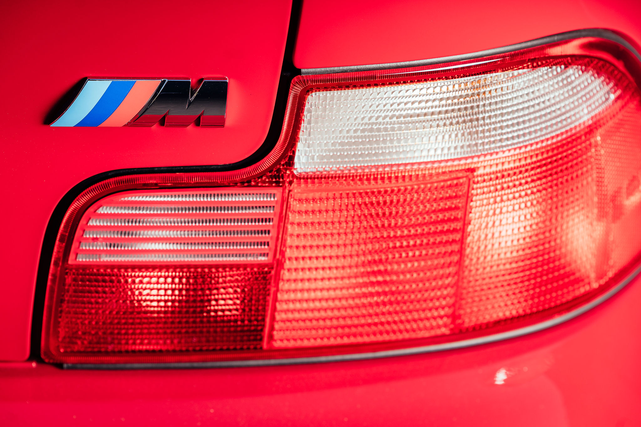 2002 BMW Z3 M Coupe rear taillight m badge