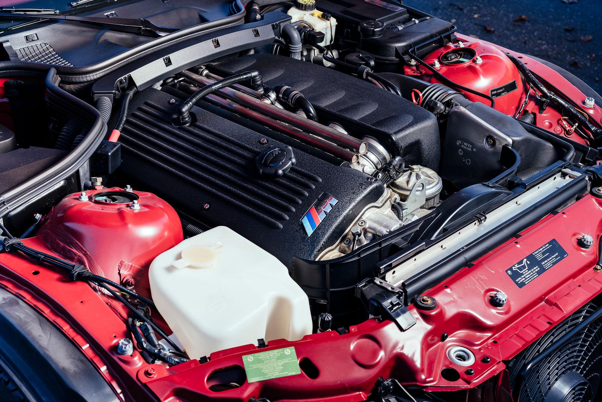 2002 BMW Z3 M Coupe engine