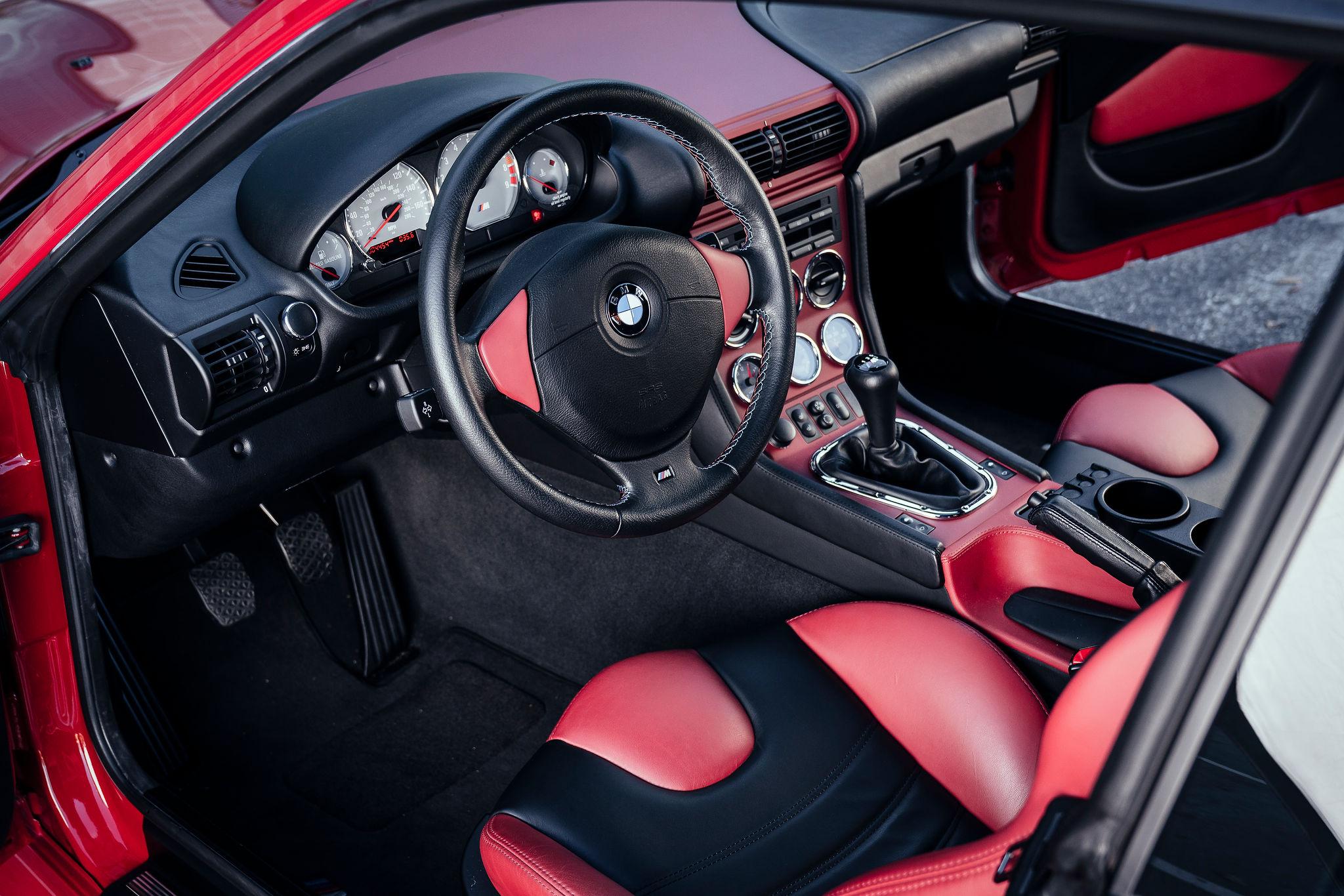 2002 BMW Z3 M Coupe interior driver